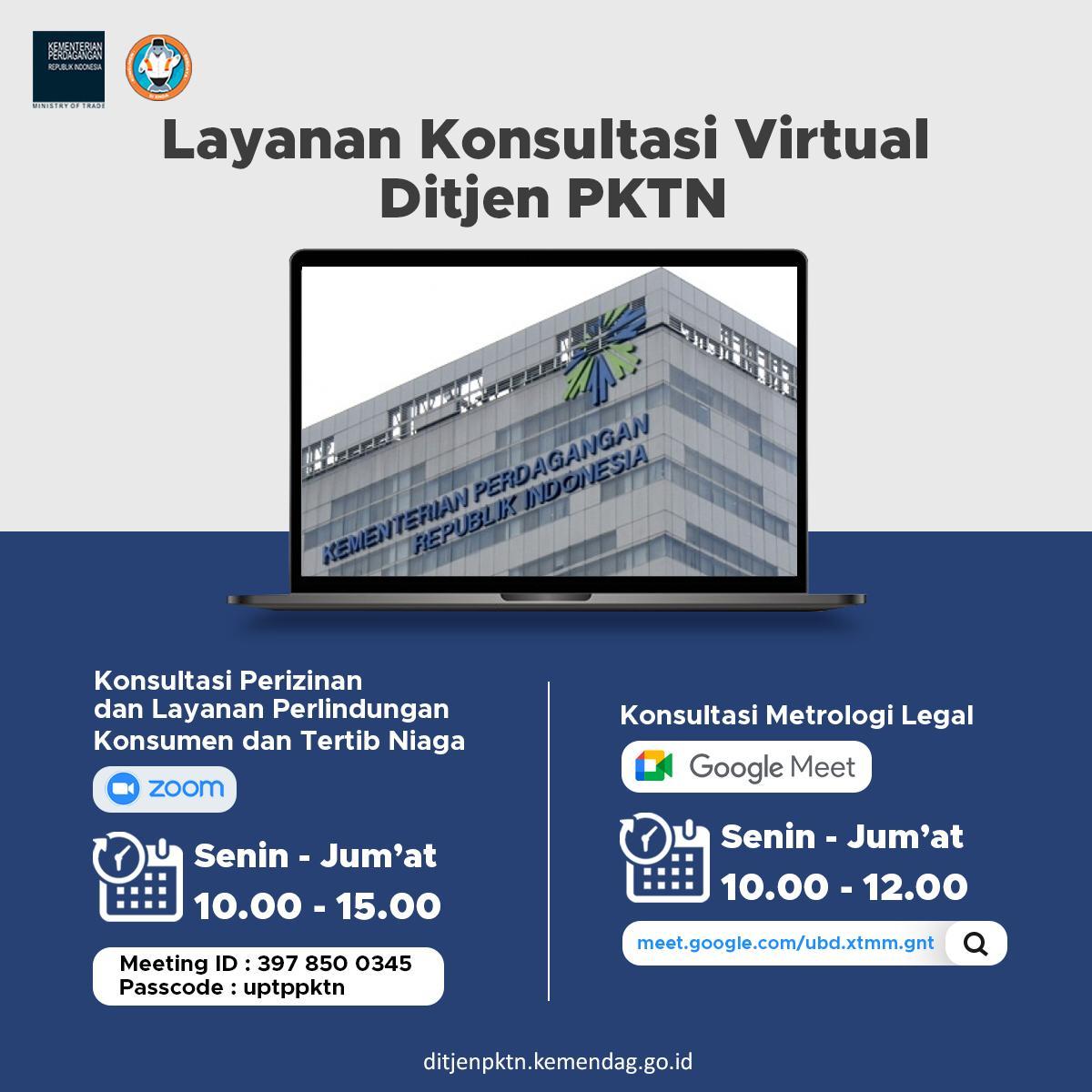 Layanan Konsultasi Virtual Ditjen PKTN